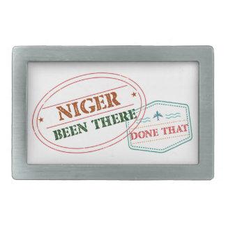 Hebilla De Cinturón Rectangular Niger allí hecho eso