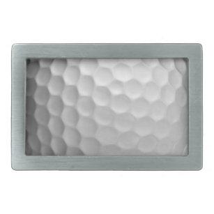 Hebilla De Cinturón Rectangular Patrón de textura de la bola de golf