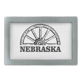 Hebilla De Cinturón Rectangular pionero de Nebraska