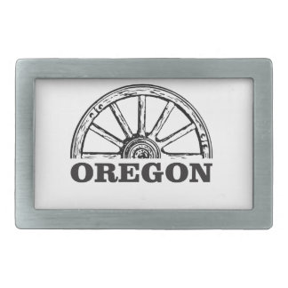 Hebilla De Cinturón Rectangular rueda simple del rastro de Oregon