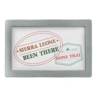 Hebilla De Cinturón Rectangular Sierra Leone allí hecho eso