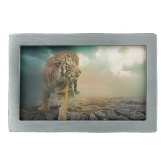 Hebilla De Cinturón Rectangular Tigre grande