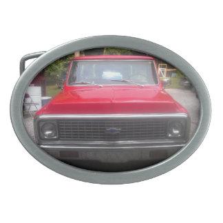 Hebilla del cinturón 1972 de Chevy C10