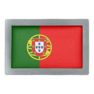 Hebilla del cinturón de la bandera de Portugal