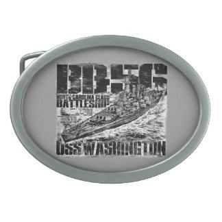 Hebilla del cinturón de Washington del acorazado