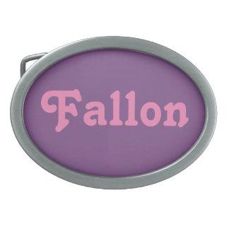 Hebilla del cinturón Fallon