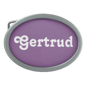 Hebilla del cinturón Gertrudis