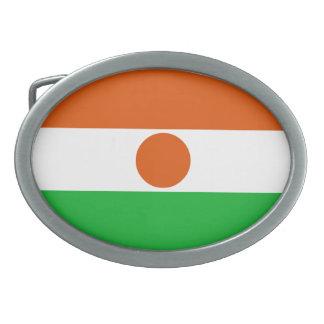 Hebilla Ovalada Bandera de Niger