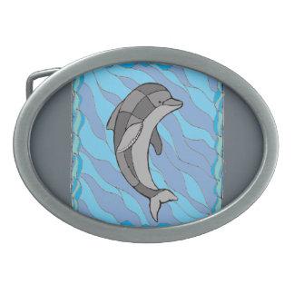 Hebilla Ovalada Delfín