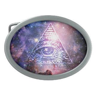 Hebilla Ovalada Nebulosa de Illuminati
