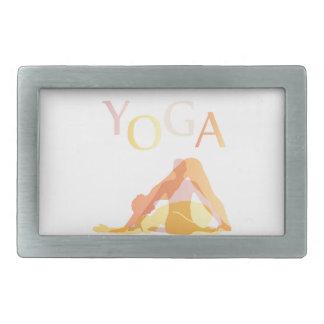Hebilla Rectangular Actitudes de la yoga