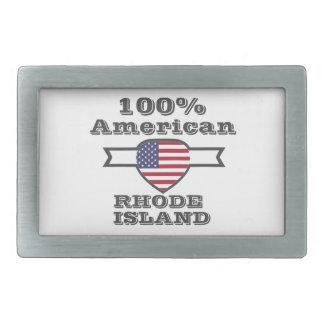 Hebilla Rectangular Americano del 100%, Rhode Island