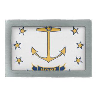 Hebilla Rectangular Bandera de Rhode Island