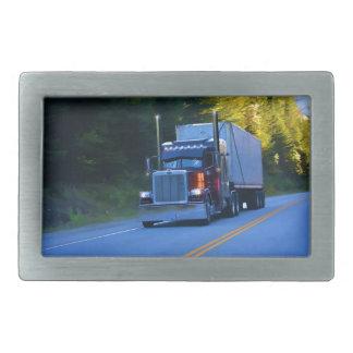 Hebilla Rectangular Camioneros, arte grande del camión del cargo del