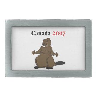 Hebilla Rectangular Castor de Canadá 150 en 2017