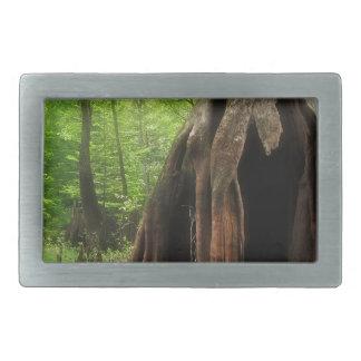 Hebilla Rectangular Cypress hueco masivo