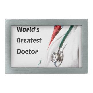 Hebilla Rectangular El doctor más grande Design del mundo