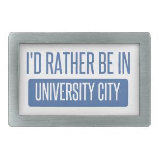Hebilla Rectangular Estaría bastante en ciudad de la universidad
