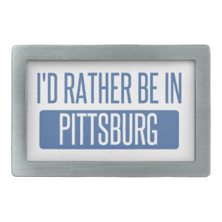Hebilla Rectangular Estaría bastante en Pittsburg