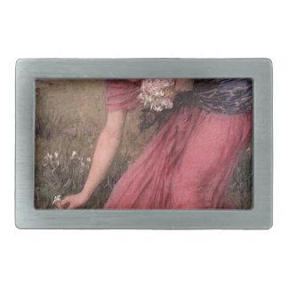 Hebilla Rectangular John William Waterhouse - narciso - bella arte
