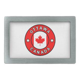 Hebilla Rectangular Ottawa Canadá