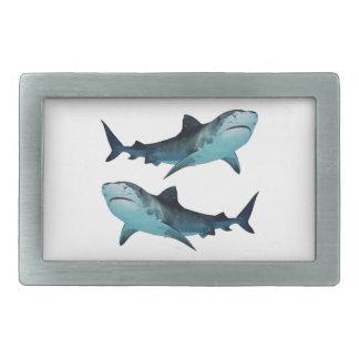 Hebilla Rectangular Reunión del tiburón