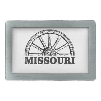 Hebilla Rectangular rueda de carro de Missouri