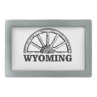 Hebilla Rectangular rueda de Wyoming