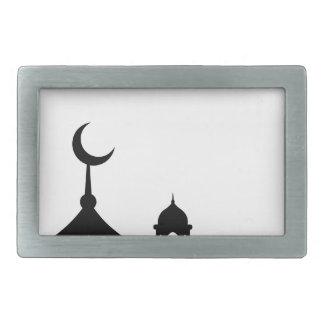 Hebilla Rectangular Silueta de la mezquita