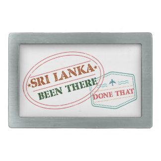 Hebilla Rectangular Sri Lanka allí hecho eso
