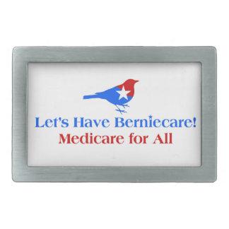 Hebilla Rectangular Tengamos Berniecare - Seguro de enfermedad para