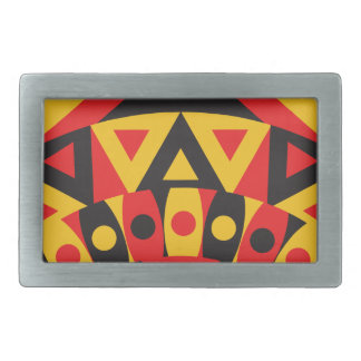 Hebilla Rectangular tribal aborigen