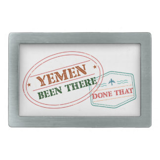 Hebilla Rectangular Yemen allí hecho eso