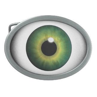 Hebilla De Cinturón Oval Hebillas del cinturón frescas del globo del ojo