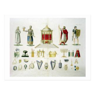 Hebreo Levi, sacerdote, rey y soldado con sagrado Postal