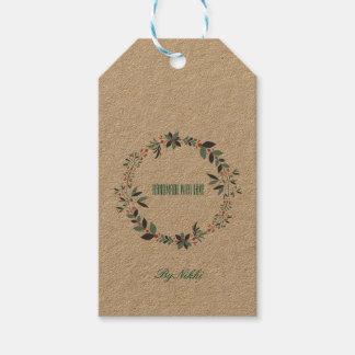 Hecho a mano con las etiquetas del amor etiquetas para regalos