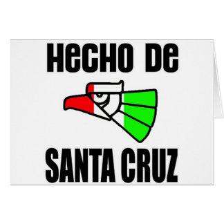 Hecho De Santa Cruz -- Ropa Tarjeton