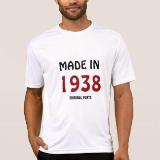 """""""Hecho en 1938, camiseta de las piezas originales"""""""
