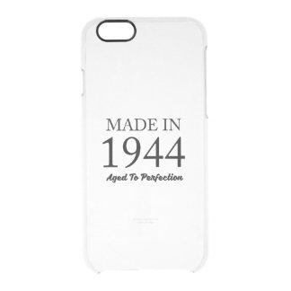 Hecho en 1944 funda transparente para iPhone 6/6s