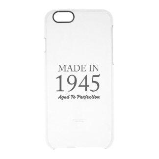 Hecho en 1945 funda transparente para iPhone 6/6s