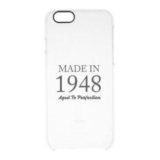 Hecho en 1948 funda transparente para iPhone 6/6s