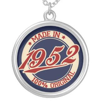 Hecho en 1952 pendiente personalizado