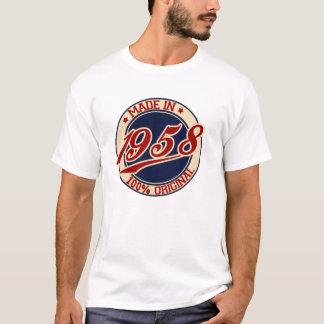 Hecho en 1958 camiseta