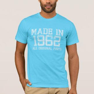 HECHO en 1962 toda la camiseta ORIGINAL de las