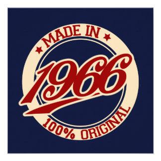 Hecho en 1966 anuncio personalizado