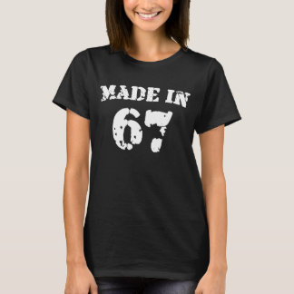 Hecho en 1967 camiseta