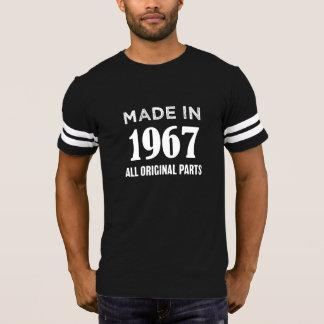 Hecho en 1967 toda la 50.a camiseta del cumpleaños