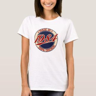 Hecho en 1984 camiseta