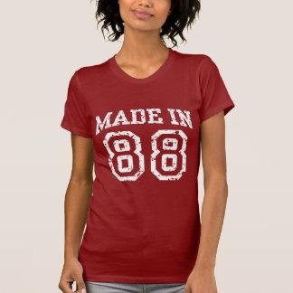 Hecho en 88 camisetas