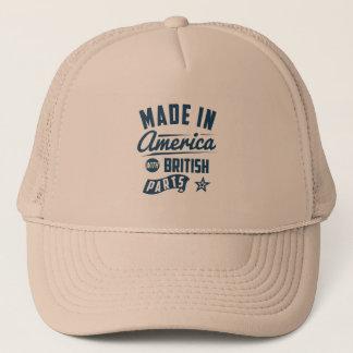 Hecho en América con las piezas británicas Gorra De Camionero